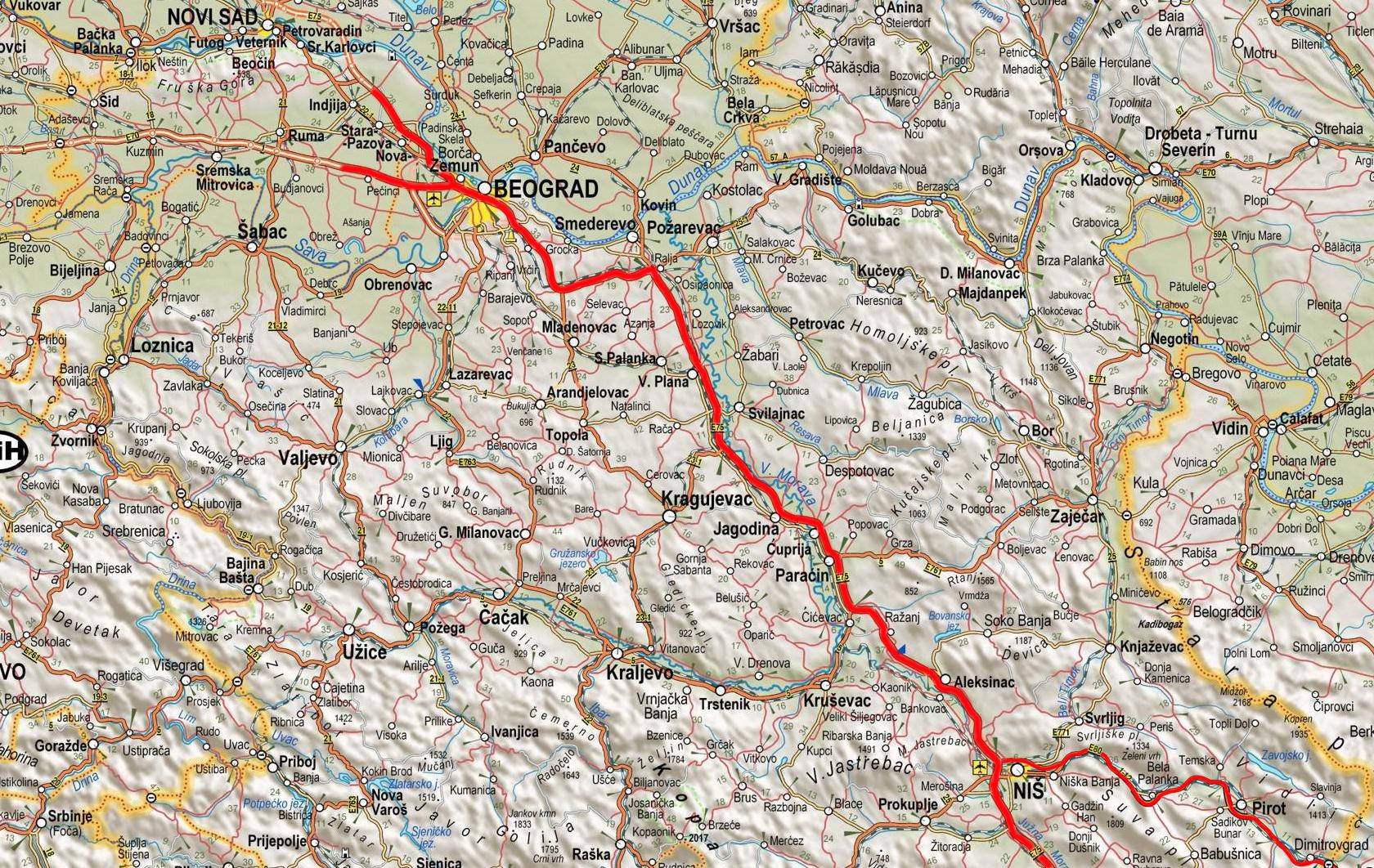 mapa srbije nis Omladinac elektro | Contact mapa srbije nis